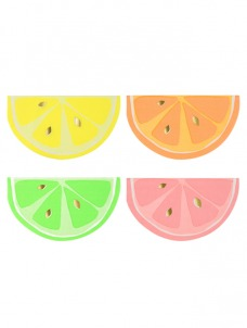 Χαρτοπετσέτες Μικρές Φρούτα Neon