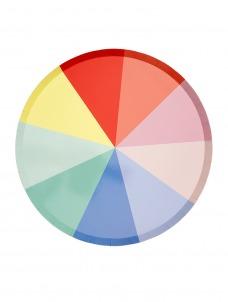 Meri Meri Πιάτο Μεγάλο Colour Wheel