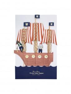 Meri Meri Cake Topper Pirates Bounty