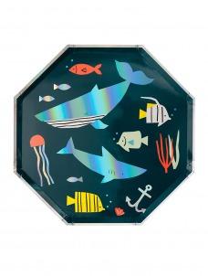 Meri Meri Πιάτο Μεγάλο Under The Sea