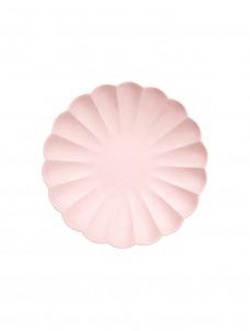 Meri Meri Πιάτο Μικρό Pink Simply Eco