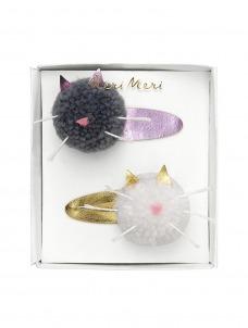 Meri Meri Κλίπ Μαλλιών Cat PomPom