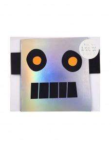 Meri Meri Robot Stickers & Sketch Book