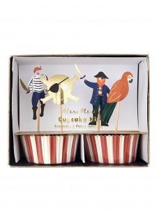 Meri Meri Cupcake Kit Pirates Bounty