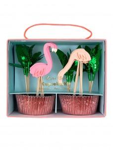 Meri Meri Cupcake Kit Flamingo