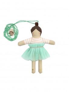 Meri Meri Κολιέ Lila Doll