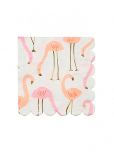 Χαρτοπετσέτα Μικρή Flamingo