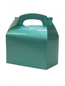 Party Box Μεταλλικό Aqua