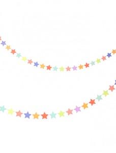 Γιρλάντα Πολύχρωμα Αστέρια