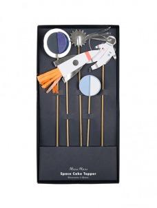 Διακοσμητικά Stick Τούρτας Space
