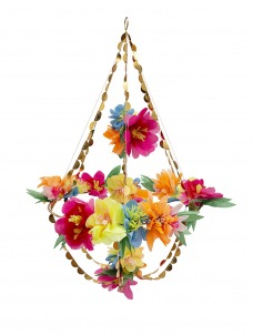 Meri Meri Διακοσμητικός Πολυέλαιος Πολύχρωμα Λουλούδια