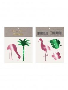 Meri Meri Τατουάζ Flamingo