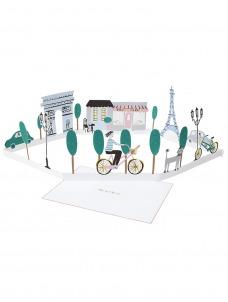 Meri Meri Κάρτα Γενεθλίων Παρίσι