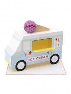 Meri Meri Κάρτα Γενεθλίων Ice Cream Van
