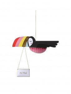 Meri Meri Κάρτα Γενεθλίων Flying Toucan