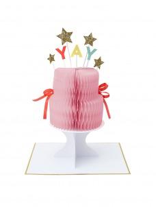 Meri Meri Κάρτα Γενεθλίων Yay! Cake