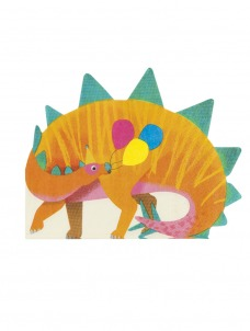 Χαρτοπετσέτες Dinosaur Shaped
