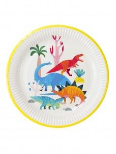 Χάρτινο Πιάτο φαγητού Dinosaur
