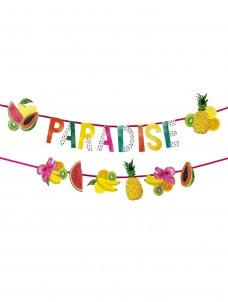 Talking Γιρλάντα Paradise and Fruit