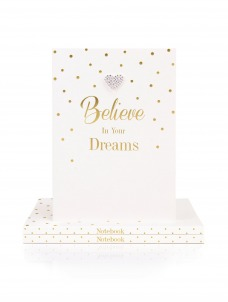 Note A5 Believe in your Dreams