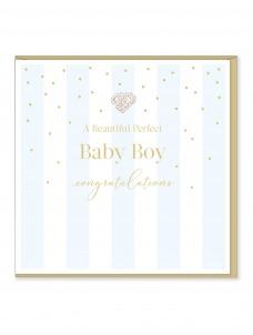 Ευχετήρια Κάρτα Baby Boy