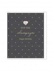 Ευχετήρια Κάρτα Pop The Champagne