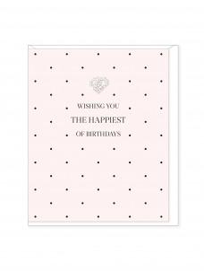 Ευχετήρια Κάρτα The Happiest of Birthdays