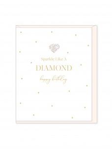 Ευχετήρια Κάρτα Sparkle Like A Diamont
