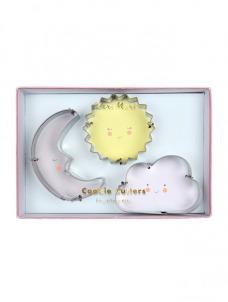 Cookie Cutters Ήλιος, Φεγγάρι, Σύννεφο