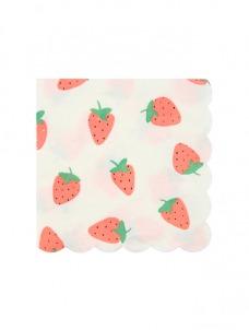 Χαρτοπετσέτα Μικρή Φράουλες
