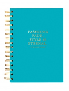 Style is Eternal Teal -HARD COVER