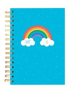 Σημειωματάριο Over it Rainbow