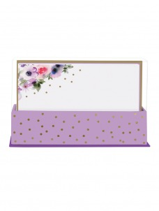 Purple Watercolour - Flat Notes