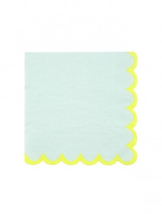 Χαρτοπετσέτα Μικρή Mint Pastel