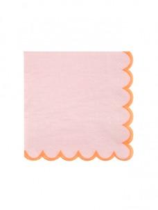 Χαρτοπετσέτα Μικρή Pink Pastel