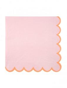 Χαρτοπετσέτα Μεγάλη Pink Pastel