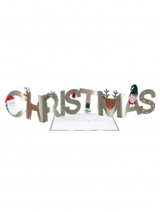 Meri Meri Ευχετήρια Κάρτα Christmas Concertina