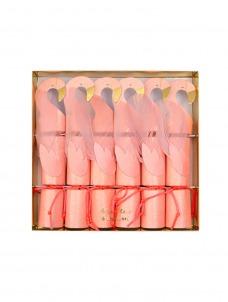 Meri Meri Crackers Μικρά Flamingo