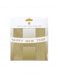 Talking Γιρλάντα Χρυσή Happy New Year