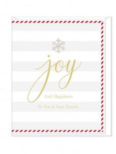 Ευχετήρια Κάρτα – Joy And Happiness