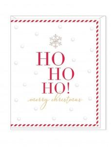 Ευχετήρια Κάρτα – Ho Ho Ho Merry Christmas