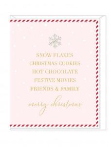 Ευχετήρια Κάρτα – Snow Flakes