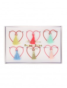 Meri Meri Συνδετήρες Καρδιά με Φουντίτσες