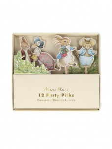 Meri Meri Party Picks Peter Rabbit & Friends