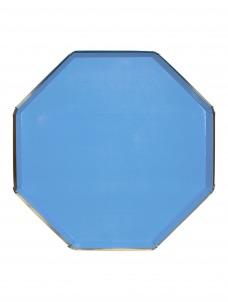 Meri Meri Πιάτο Φαγητού Οκτάγωνο Bright Blue