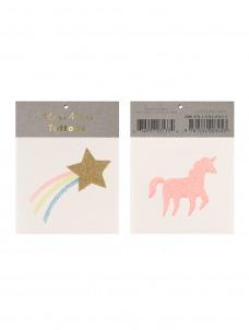 Meri Meri Τατουάζ Star & Unicorn