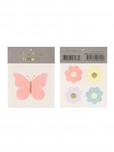 Meri Meri Τατουάζ Floral Butterfly