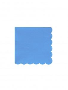 Meri Meri Χαρτοπετσέτα Μικρή Bright Blue