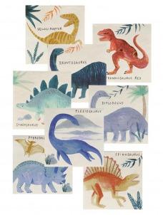 Meri Meri Χαρτοπετσέτα Μικρή Dinosaur Kingdom