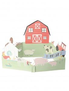 Meri Meri Ευχετήρια Κάρτα On the Farm